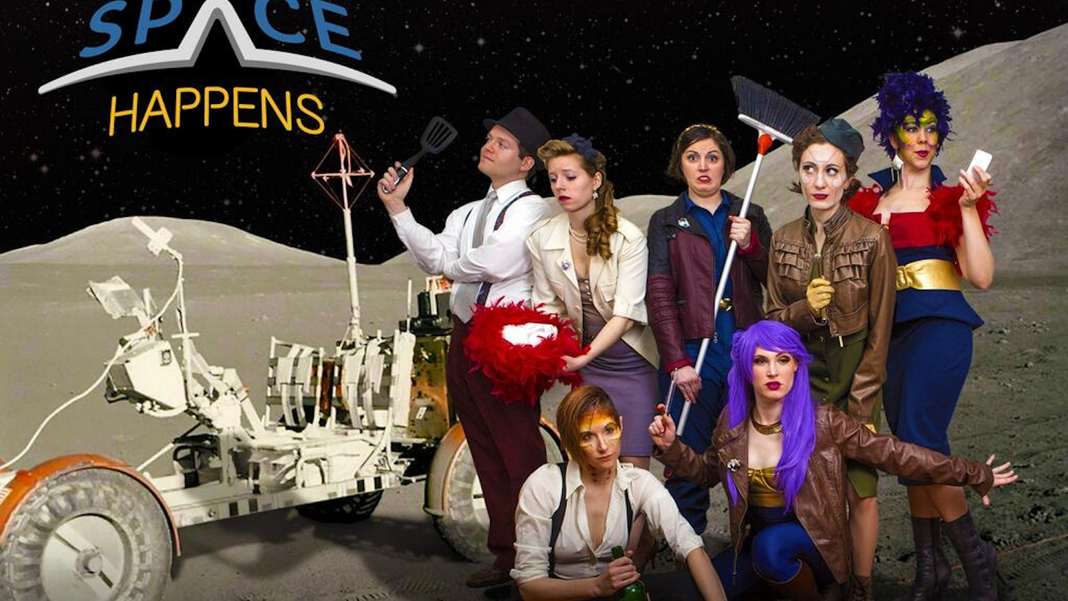 A satire developed, written & produced by women in comedy. A slash fic between feminism and science fiction. In witty webseries form.