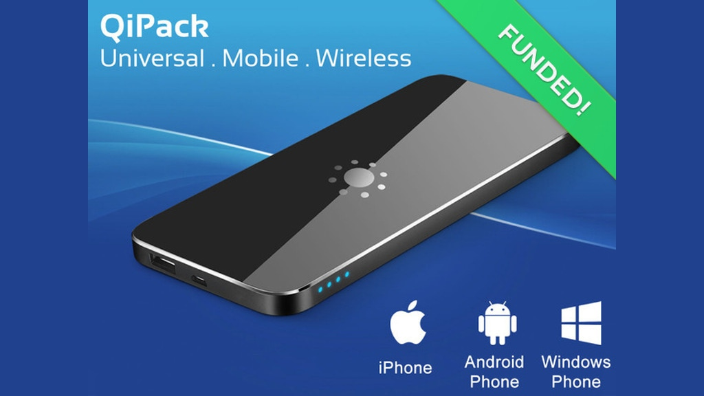 qipack the world 39 s thinnest wireless portable charger by michael s goyack kickstarter. Black Bedroom Furniture Sets. Home Design Ideas