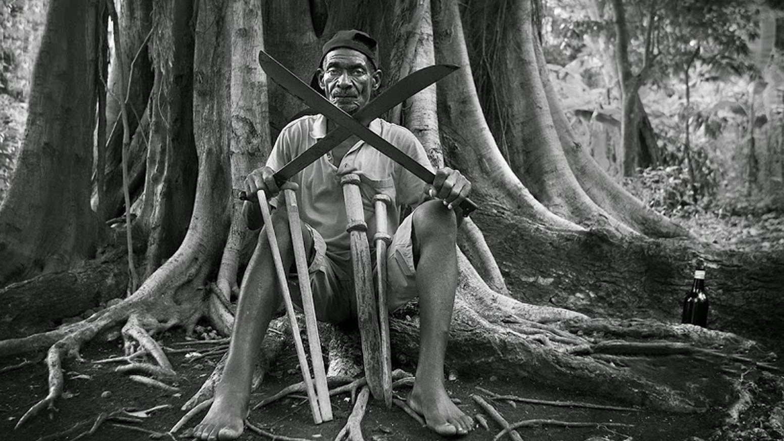 """the history of the machete history essay As he ran towards him, dazed with fear, okonkwo drew his machete and  the essay """"marriage  family film finance health history human law learning life."""