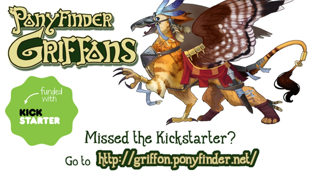 Ponyfinder: Griffons of Everglow Pathfinder Expansion project video thumbnail