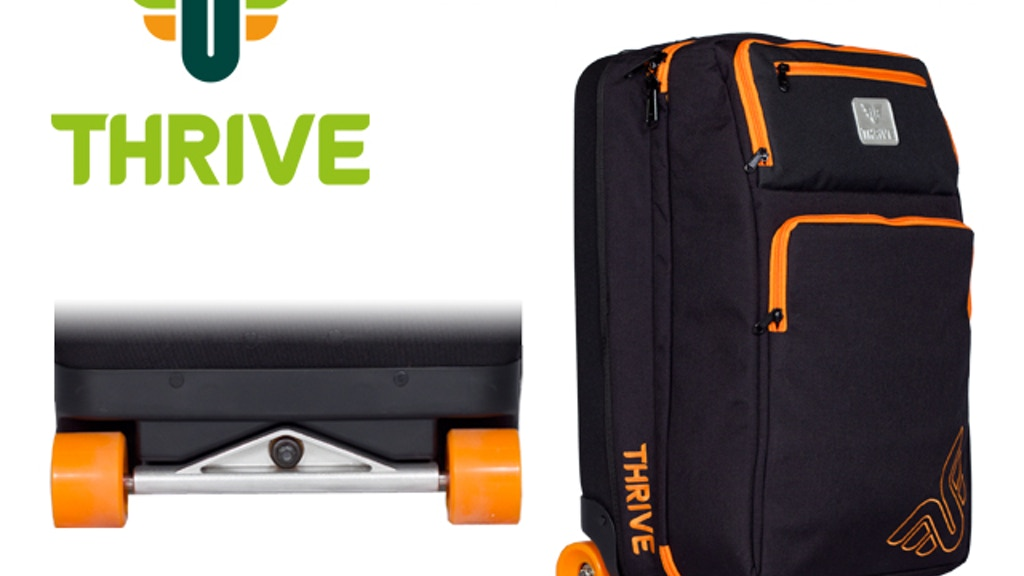 Thrive Traveler Skate Luggage project video thumbnail