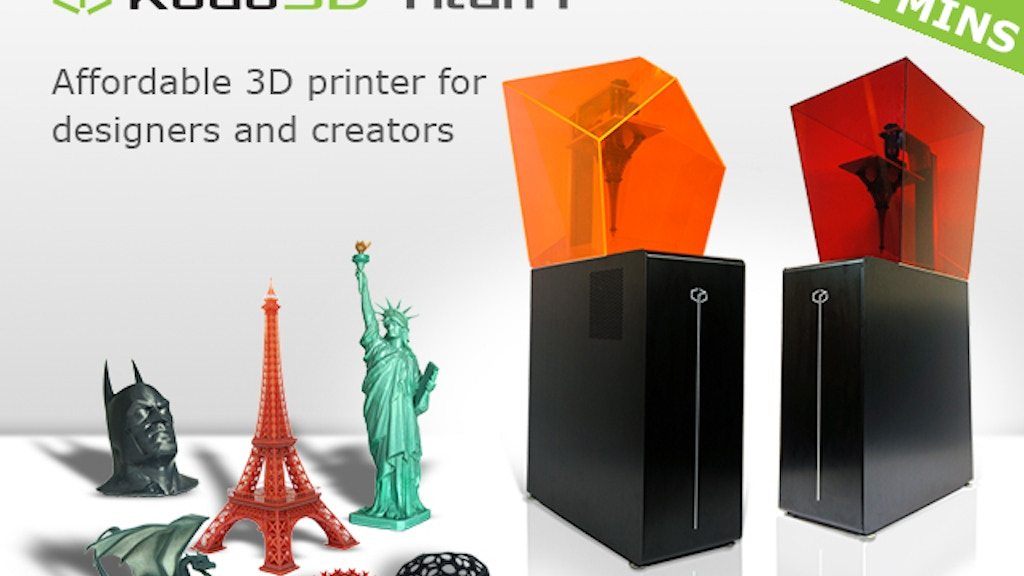 Titan 1: Fastest, Tallest Print, High Res SLA 3D Printer project video thumbnail