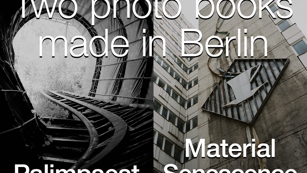 Two photo books made in Berlin project video thumbnail