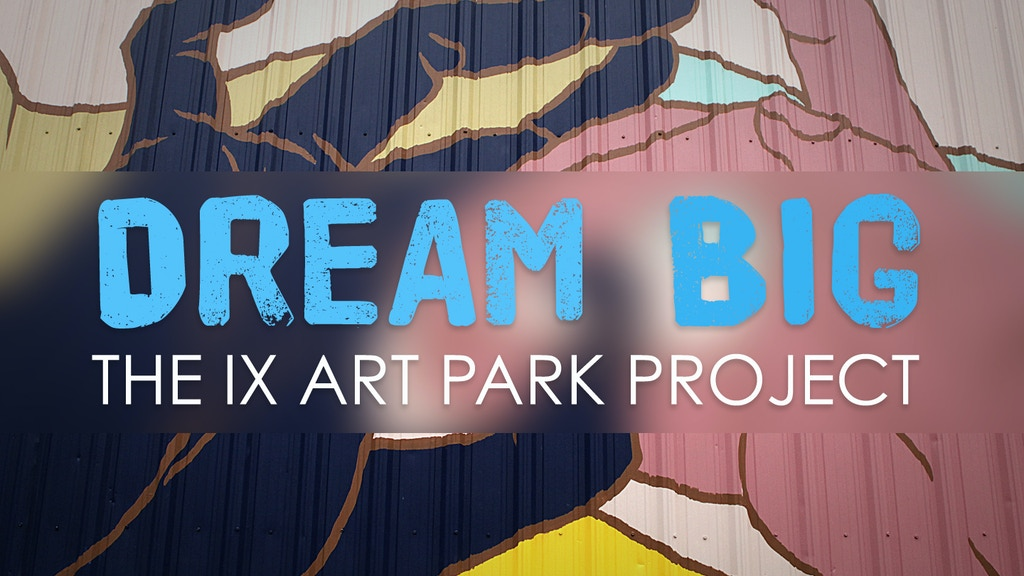 Dream Big: The IX Art Park Project project video thumbnail