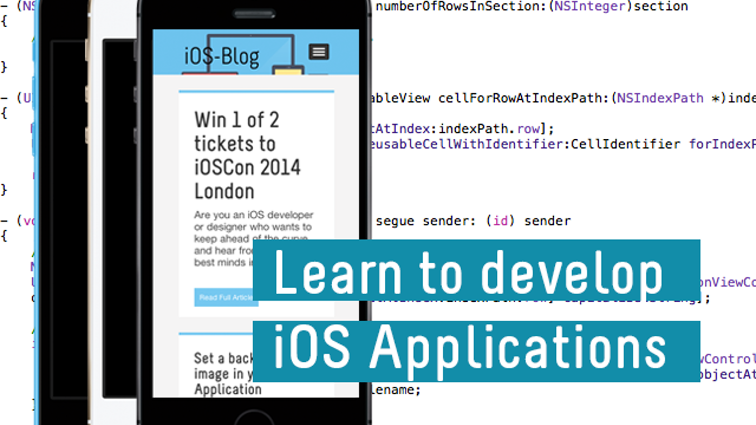 Learn to develop iOS applications for the iPhone/iPad by Mark