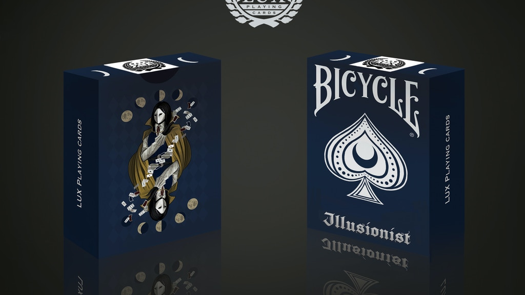Illusionist Deck: Bicycle Playing Cards, Magician inspired project video thumbnail