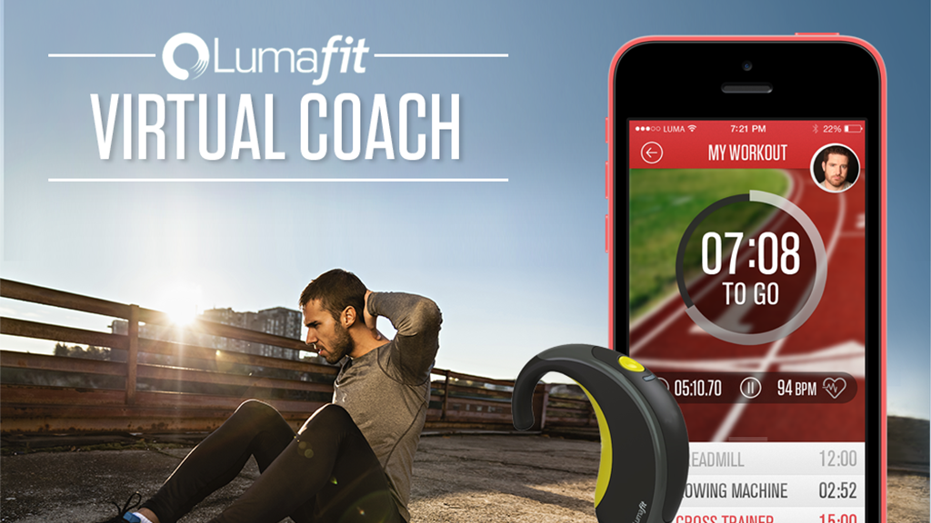 Lumafit - Interactive Fitness Coach With Heart Age Tracking. project video thumbnail