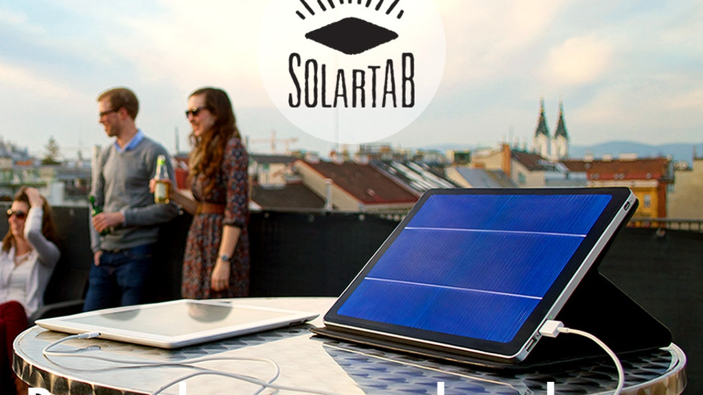 Solartab - The Premium Solar Charger project video thumbnail