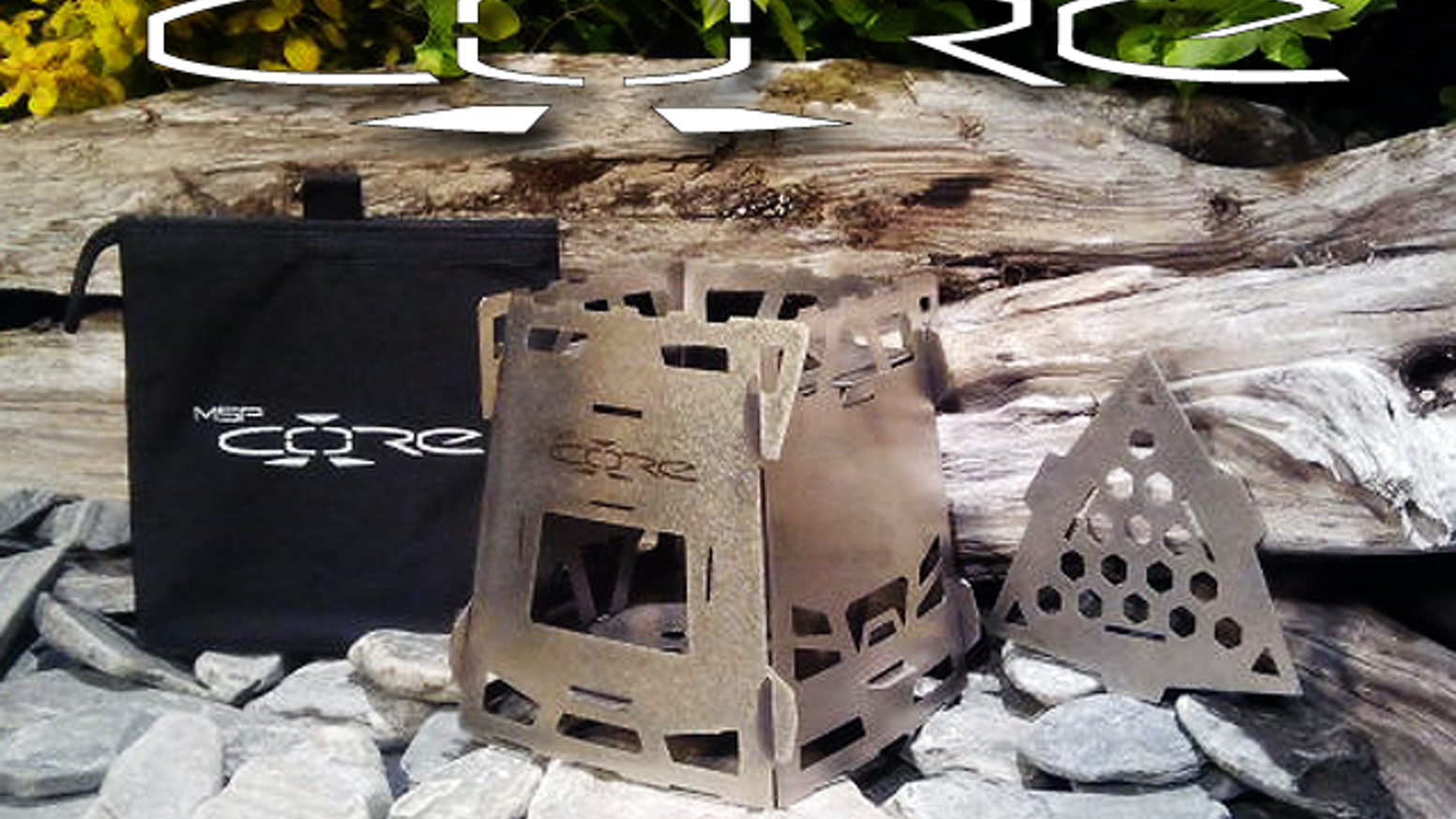 The CORE Multi-function Wood Gas Backpacking Stove by Chad Mueller ...