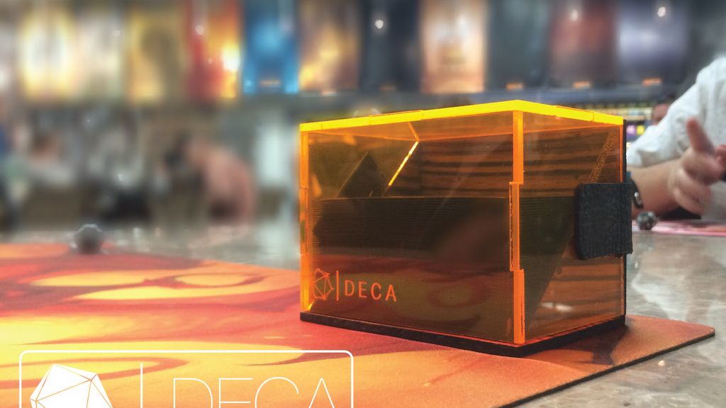 DECA - A Handcrafted Deck Box Designed for Card Gaming project video thumbnail