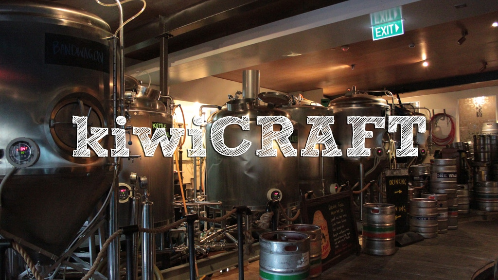 kiwi CRAFT a Guide to NZ Craft Beer project video thumbnail