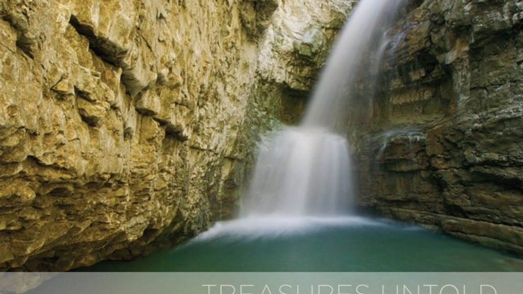 Treasures Untold - a fine art nature photography book project video thumbnail