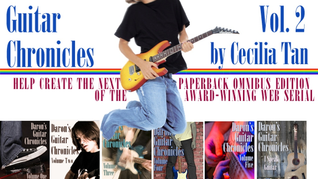 Daron's Guitar Chronicles: Second Omnibus Paperback project video thumbnail