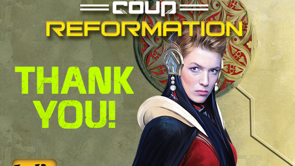 Coup Reformation - Kickstarter Edition project video thumbnail