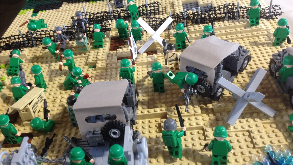 Thin Green Line >> Lego World War 2: Three Designs from a 9-year-old's Vision ...
