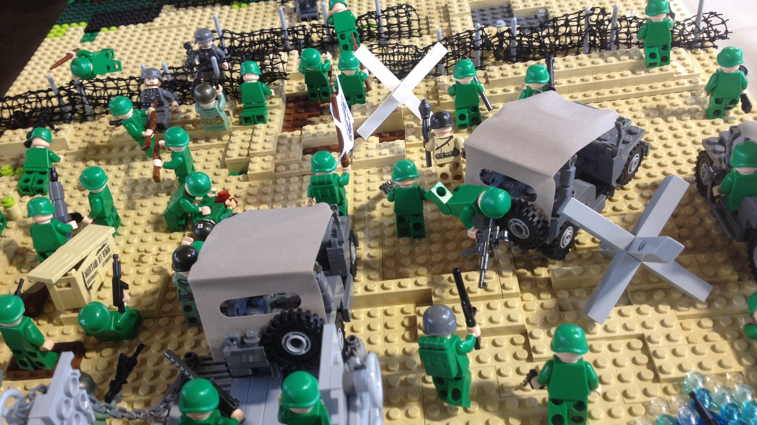 Lego World War 2: Three Designs from a 9-year-old's Vision by