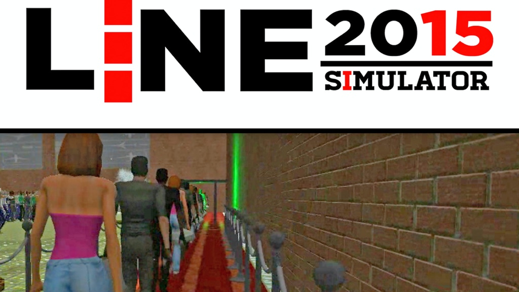 Project image for LINE SIMULATOR 2015 - Welcome to Next-Gen Gaming