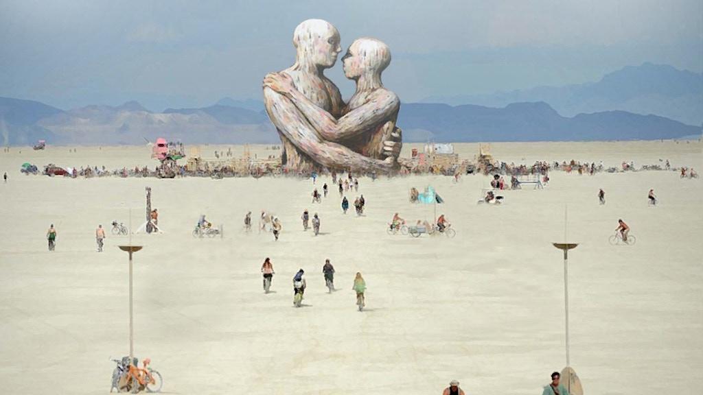 Embrace, Burning Man 2014 project video thumbnail
