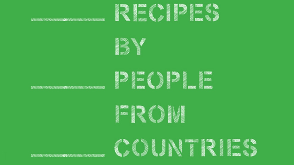 Recipes by People project video thumbnail