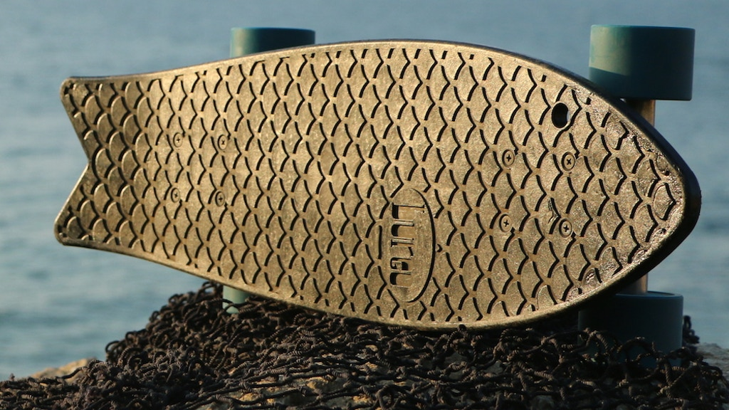 Bureo - Recycled Fishnet Skateboards for Cleaner Oceans project video thumbnail