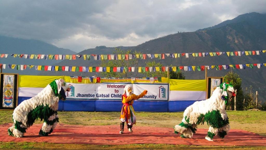 Children's Performance of Tibetan Snow Lion Dance project video thumbnail
