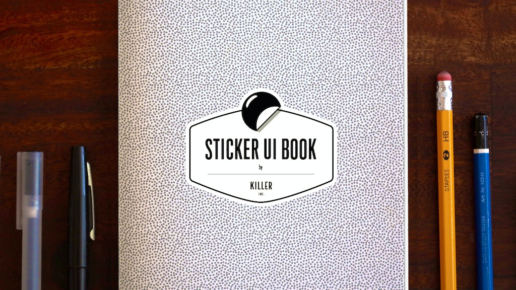 The Sticker UI Book by Killer inc. project video thumbnail