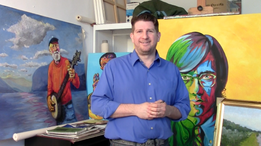 Coulter Young - Florence, Italy - Painting Intensive project video thumbnail