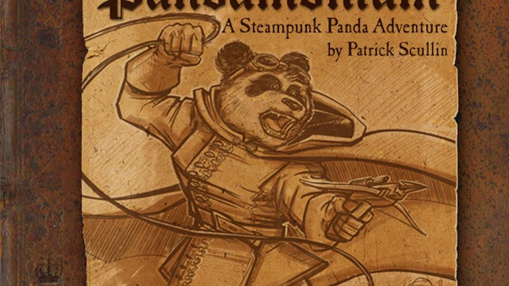Pandamonium: A Steampunk Panda Adventure Book project video thumbnail