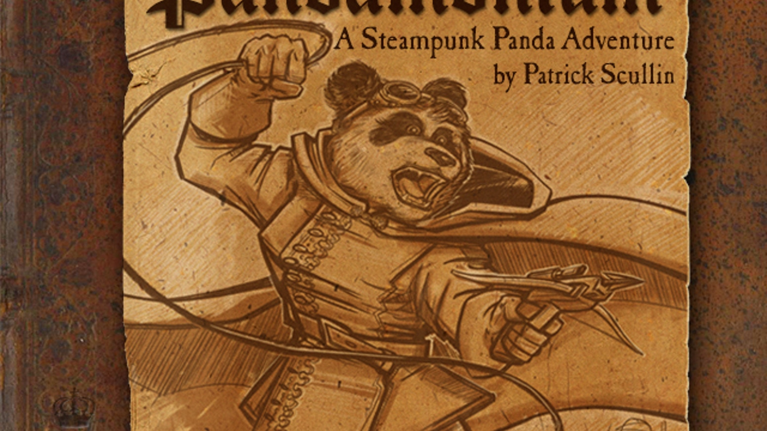 The Steampunk Panda adventure you've been waiting for. A new 100 page beautifully illustrated novel by Patrick Scullin.