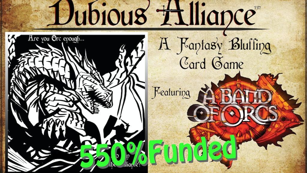 Dubious Alliance project video thumbnail