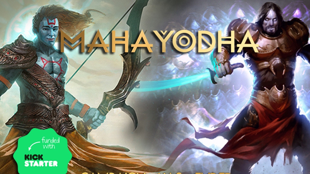Maha Yodha: Hindu Myths meet Strategic Card Gaming project video thumbnail