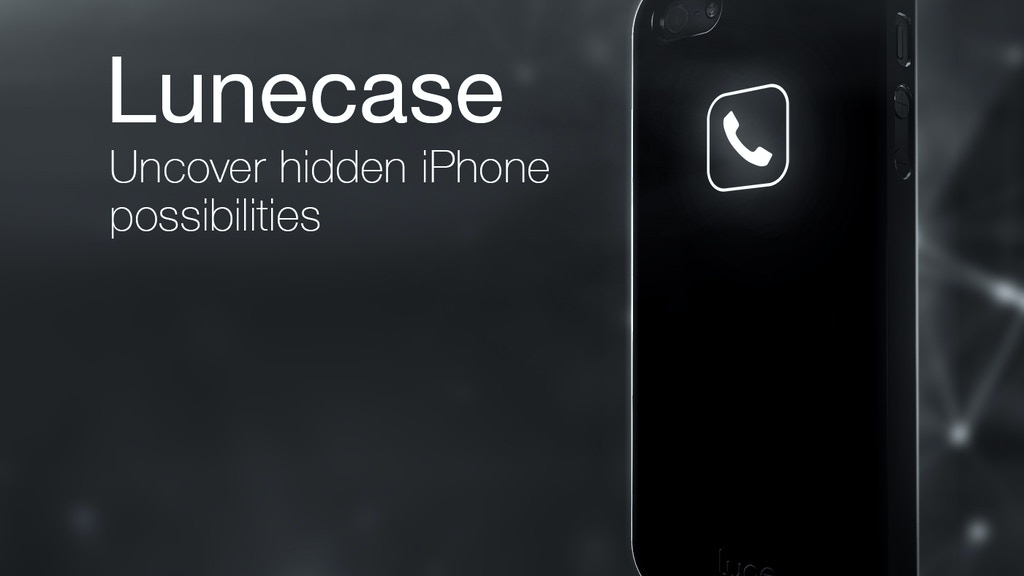 Lunecase - Bring the back of your iPhone to life! project video thumbnail