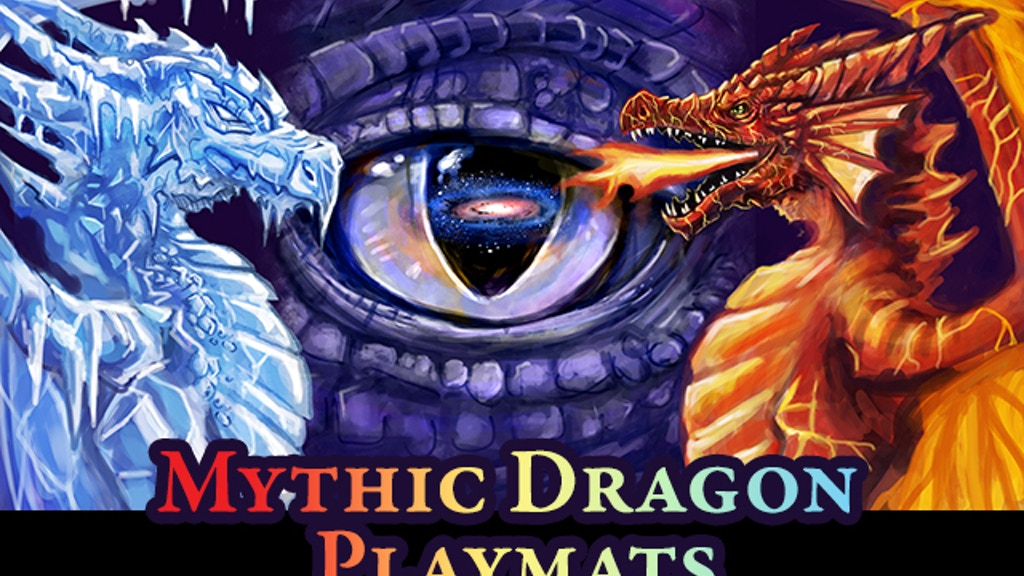 Mythic Dragon Playmats project video thumbnail