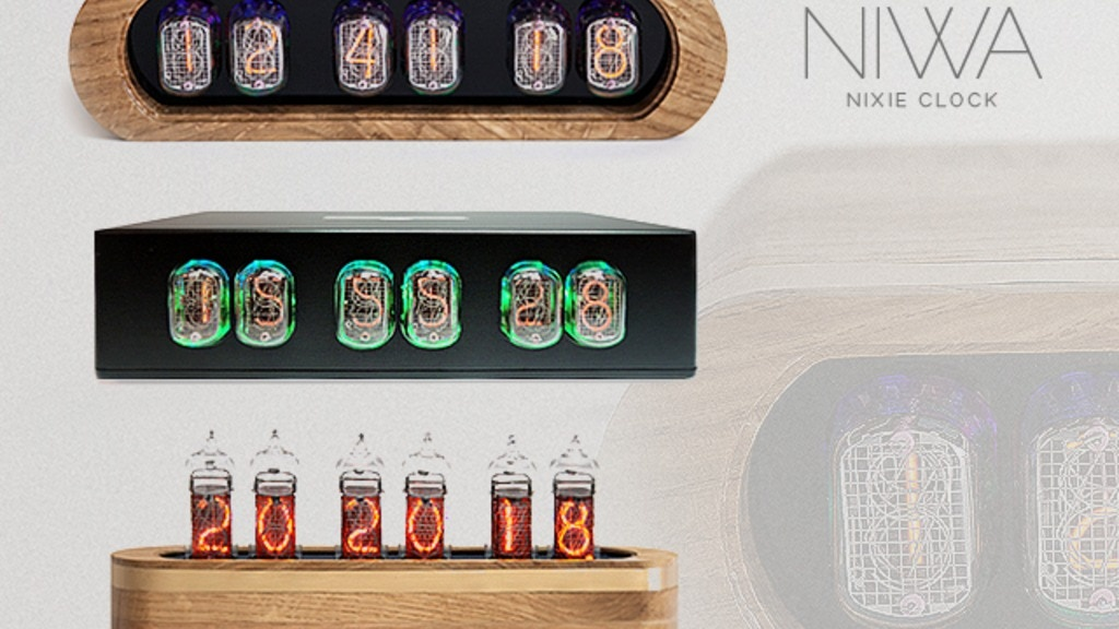 NIWA-Modern trends and classic shine of Nixie clock.2.0. project video thumbnail