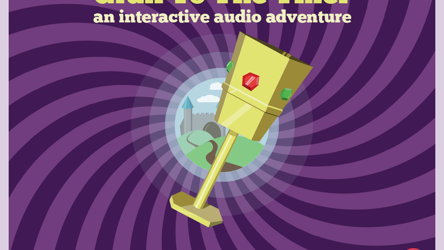 Grail to the Thief is an interactive audio adventure for the blind and visually impaired.