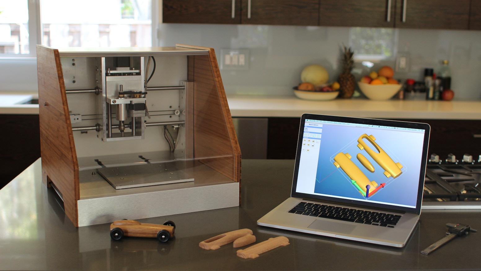 The Nomad CNC Mill by Carbide 3D LLC » We've Delivered Nomads