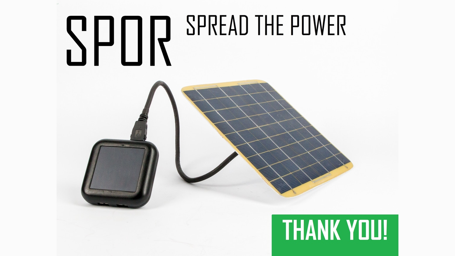 SPOR: Solar Battery Chargers, USB Cables & Accessories By