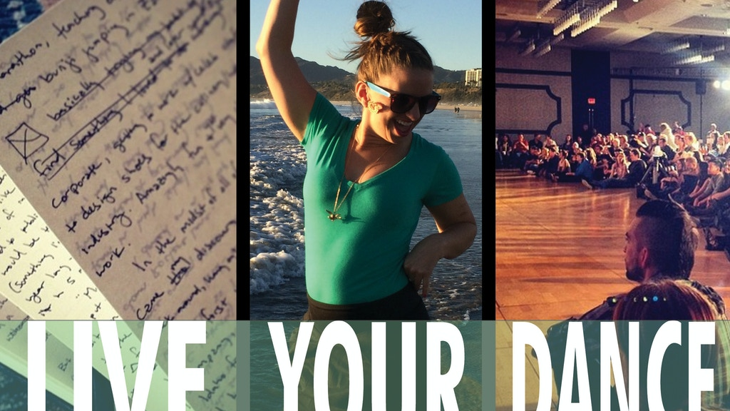 Live Your Dance: Molly King's Next Book project video thumbnail