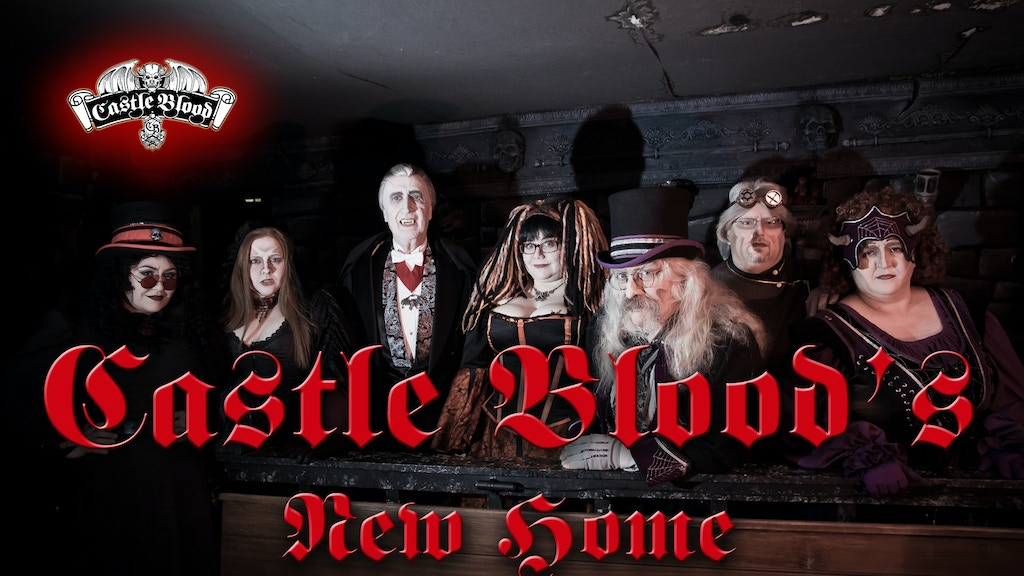 Castle Blood's New Forever Home, Classic American Halloween project video thumbnail