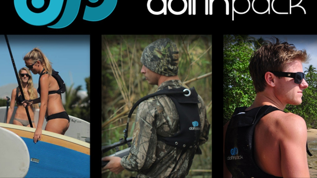 Dolfin Pack Xtreme Sports Hydration System project video thumbnail