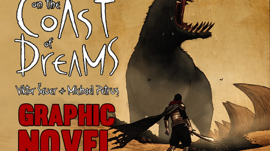 On the Coast of Dreams - GRAPHIC NOVEL project video thumbnail