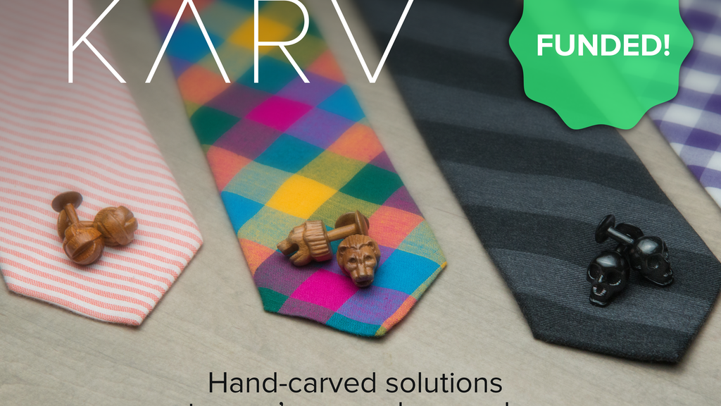 KARV – Hand-carved solutions to man's every day needs. project video thumbnail