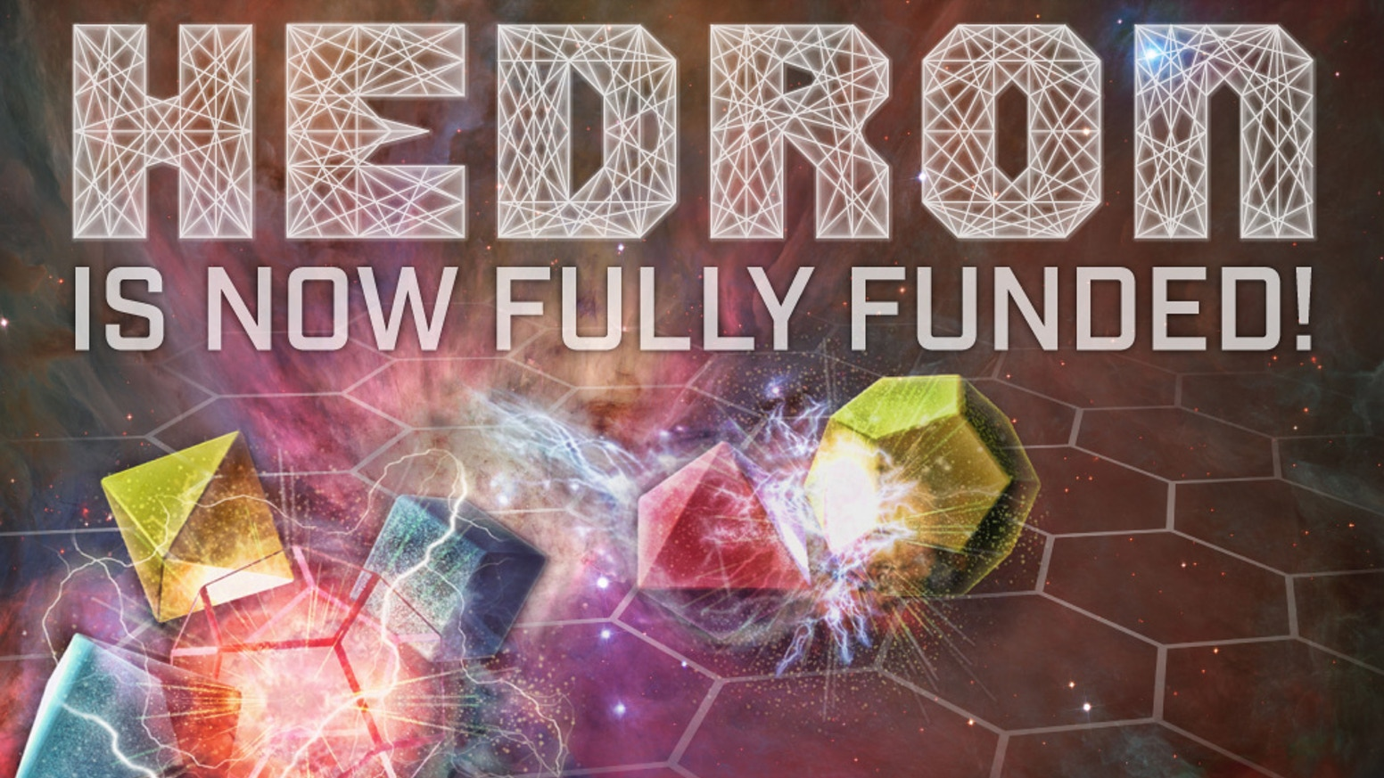 Hedron is a tiny epic space battle that combines abstract strategy with thematic gameplay and dynamic mechanics