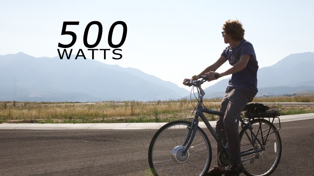 The LEED 500 Series High Power Electric Bike Conversion Kit