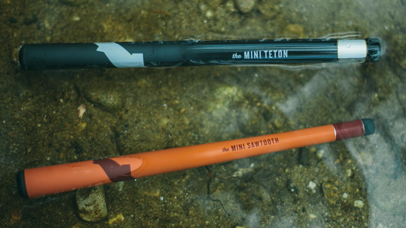 Introducing the Mini Sawtooth and Mini Teton.  Tiny, lightweight, pocket Tenkara fly fishing rods that go everywhere with you.