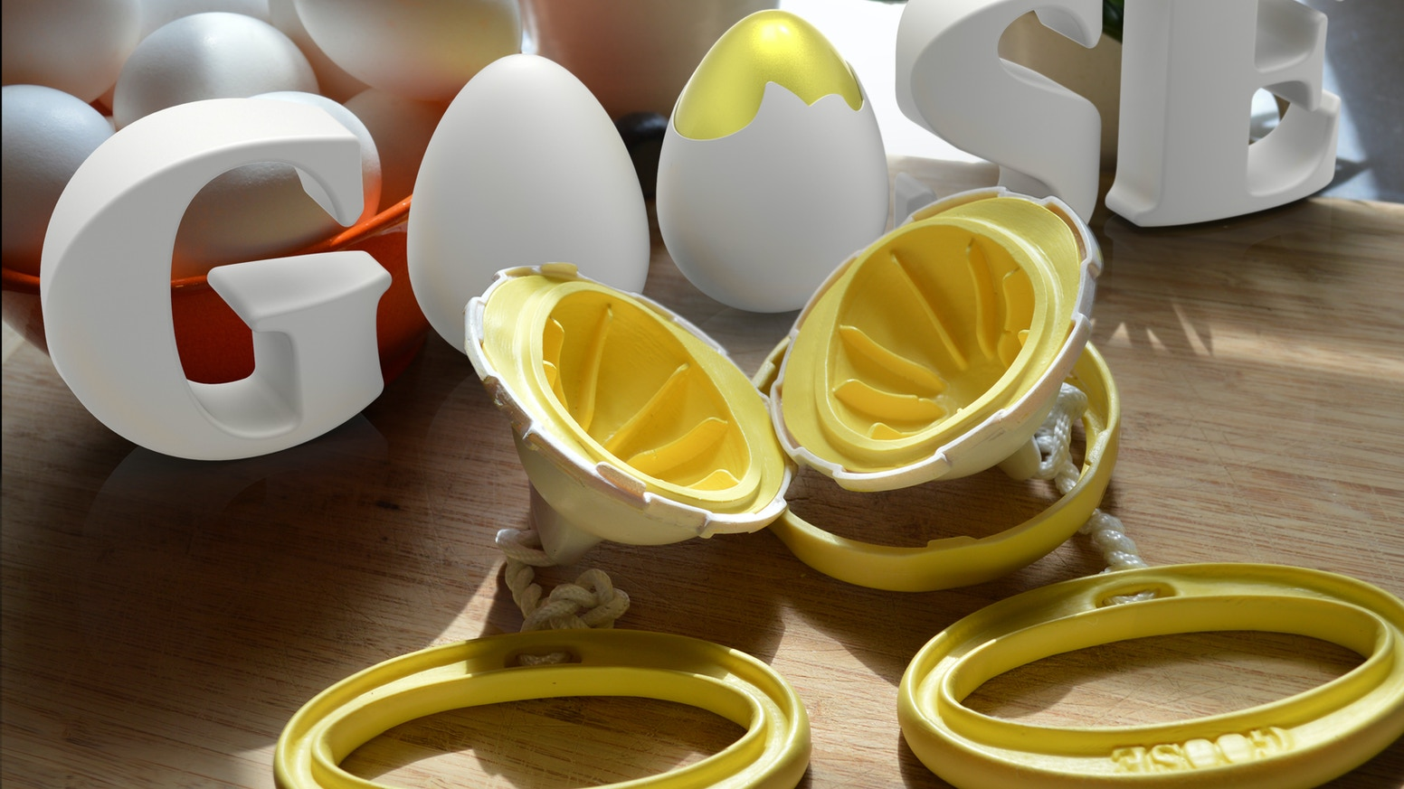 A hand-powered 'kitchen gadget' that magically scrambles an eggs. By the creators of 'Butter Boss' - Funding Now!