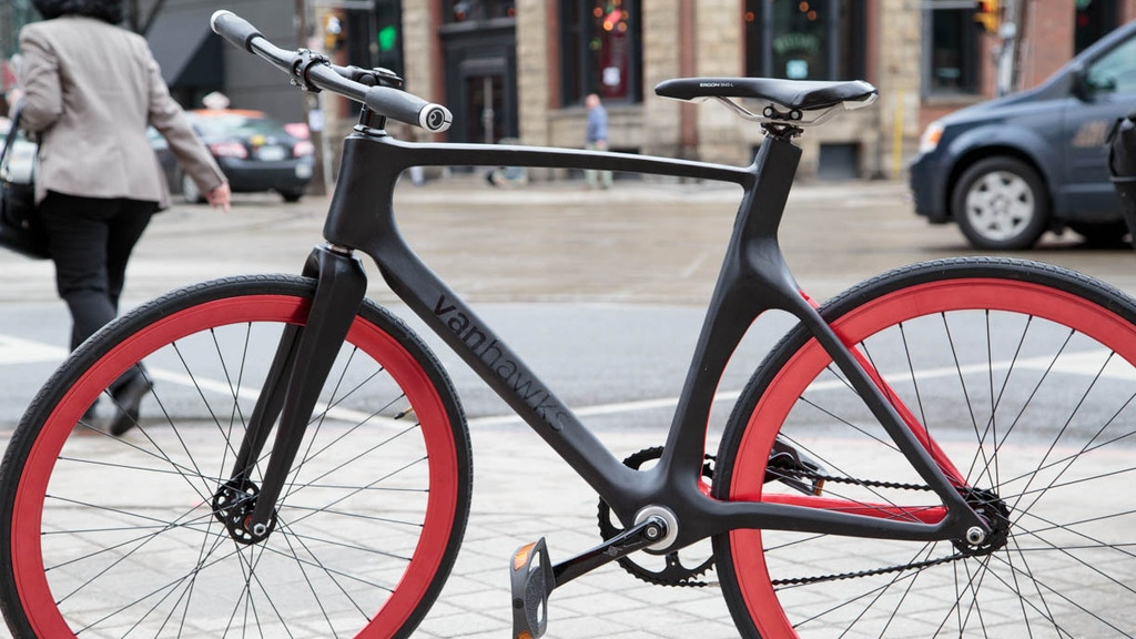 Vanhawks Valour   First ever connected carbon fibre bicycle by Ali ...