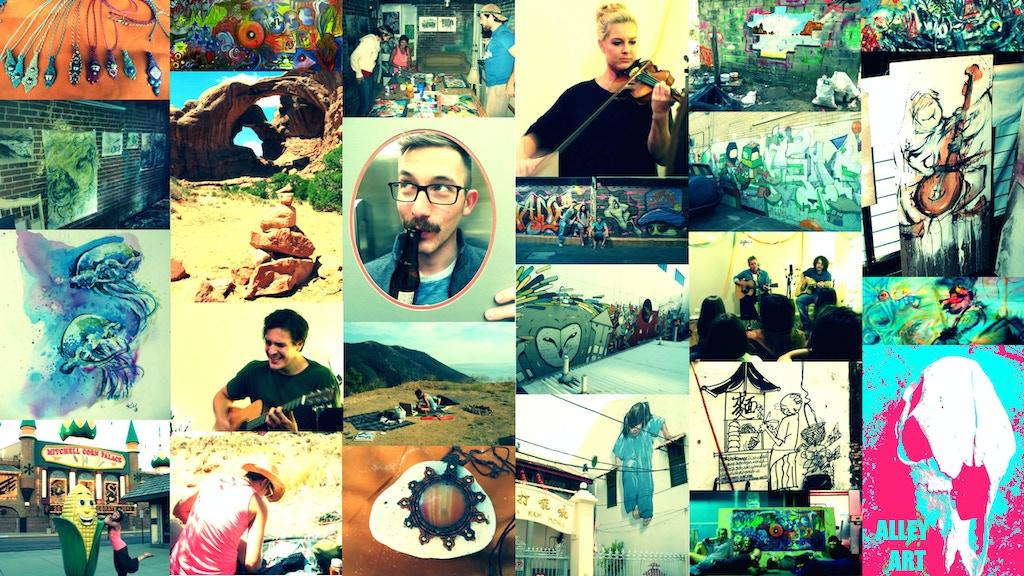ALLEY ART: A Tour, A Showcase, & An Art Book! project video thumbnail