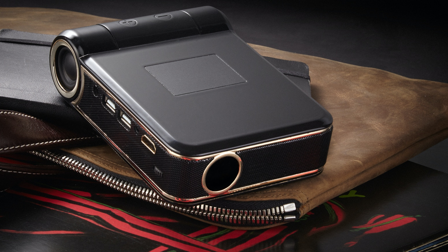First Smart Projector:  Battery and Android Powered to Provide Visual and Sound Anywhere.