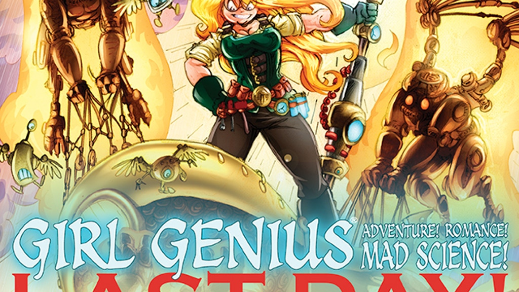 Girl Genius Volume 13: Agatha Heterodyne & The Sleeping City project video thumbnail